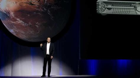 elon musk mars elon musk s spacex announces major human mission in 2018