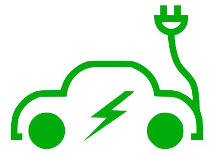 electric vehicles symbol electric car signs symbol ecology electric car png html