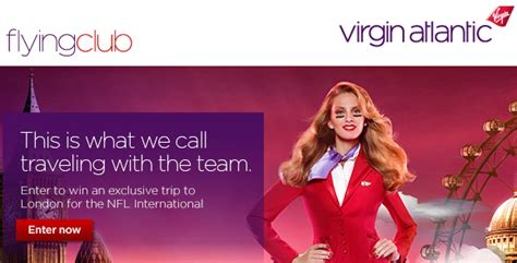 virgin atlantic giving  trip  nfl international