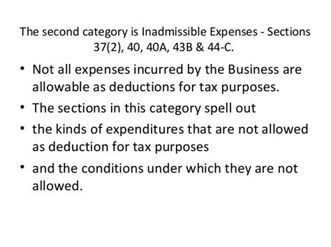section 10 37 of income tax act tax presentation business income
