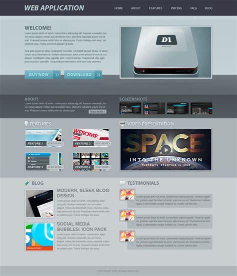design app in photoshop 40 best tutorials to design website templates in