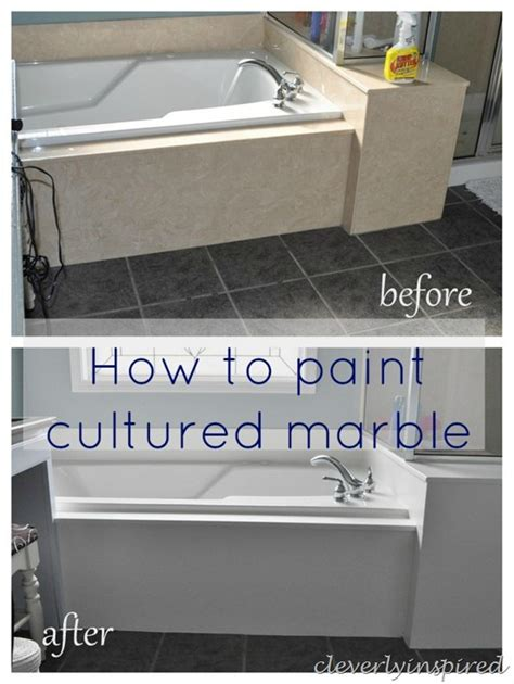 can you paint a marble surround how to paint cultured marble