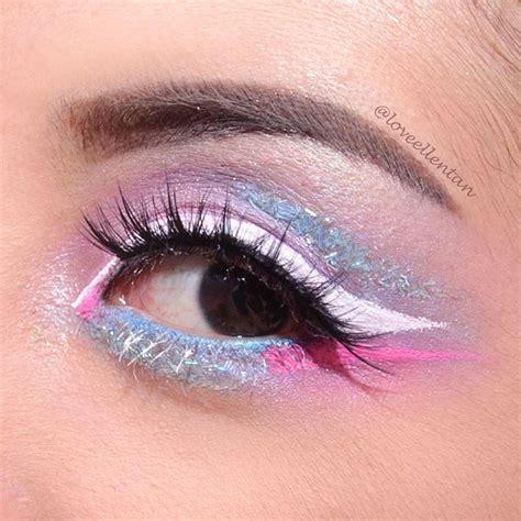 Eyeshadow Sariayu Bagus Gak eotd pastel eye makeup unicorn inspired loveellentan