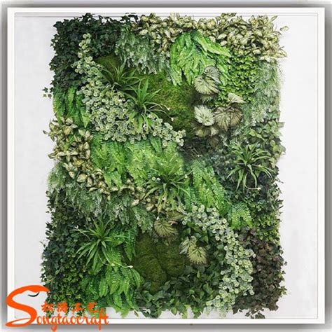 Vertical Moss Garden Vertical Garden Green Wall Module Artificial Hanging Wall