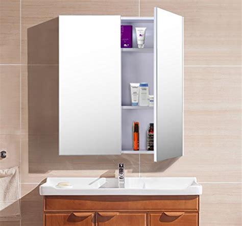 spiegelschrank real homcom badem 246 bel spiegelschrank badeschrank h real