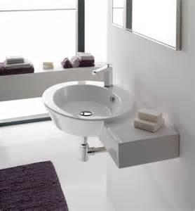 bathroom wall mount sink stylish oval shaped wall mounted or vessel sink with