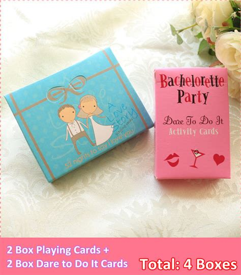Does Aliexpress Have Gift Cards - 2box bachelorette dare to do it game cards zh025 2box