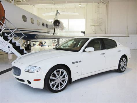 white maserati sedan 2007 maserati quattroporte 4 door sedan 170021