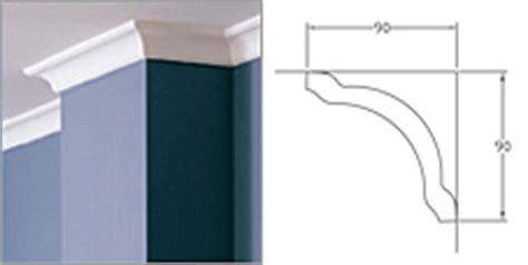 Gyprock Cornice Prices Buy Gyprock Plasterboard Decorative Cornice Classic 90mm