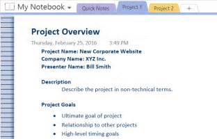 project management onenote template how to adopt onenote templates for project management