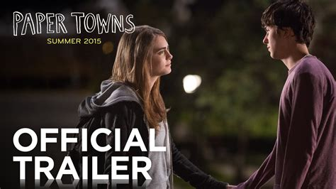 paper book trailer paper towns official trailer hd 20th century fox