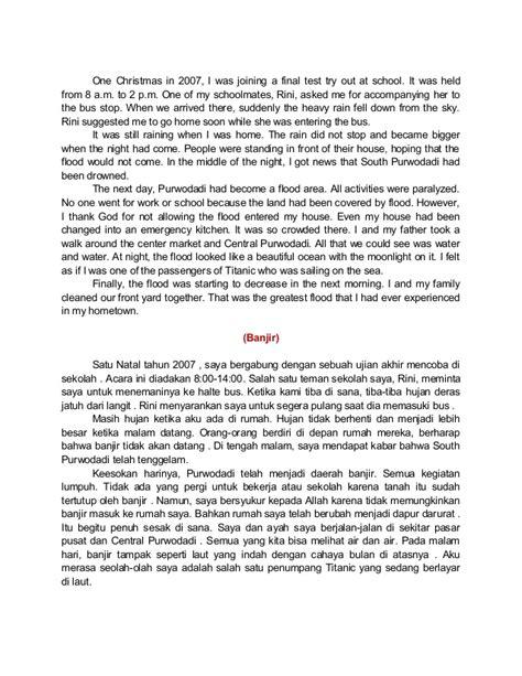 teks biography dalam bahasa inggris beberapa macam teks dalam bahasa inggris beserta terjemahannya
