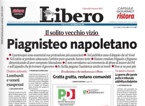 libero quotidiano italia il napoli querela libero e i giornalisti per gli articoli