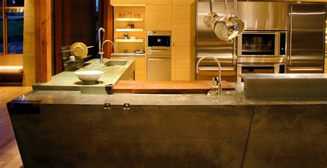 Concrete Countertops Fu Tung Cheng by Concrete Kitchen In Wine Country Cheng Concrete Exchange