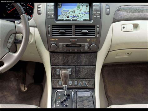 home interior ls 2002 lexus ls 430 information and photos zombiedrive