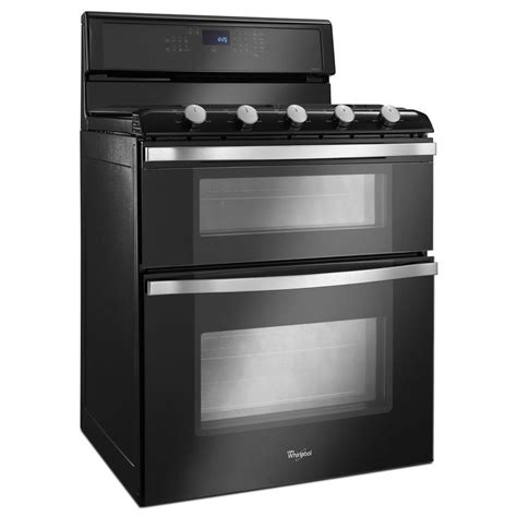 whirlpool gas range reviews shop whirlpool 30 in 5 burner 3 9 cu ft 2 1 cu ft self