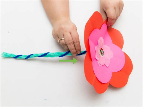 Make A Paper Poppy - how to make paper poppies 9 steps with pictures wikihow