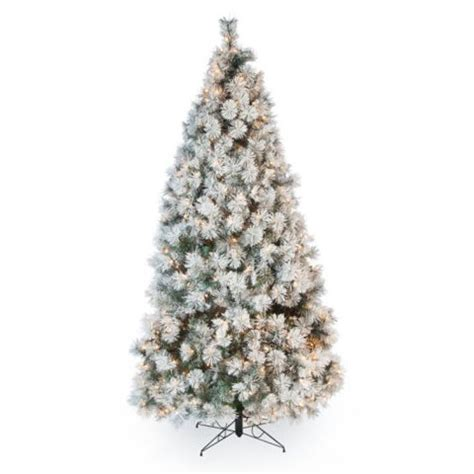 menards colorado flocked pine 11 best artificial trees for 2018 trees with lights