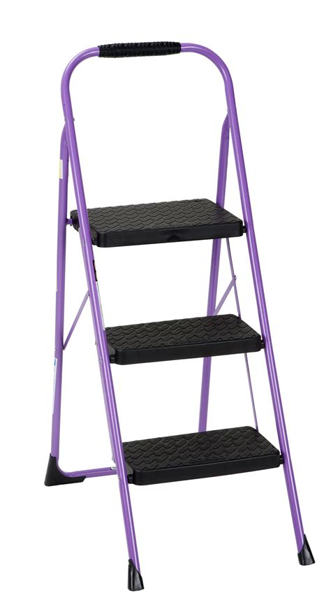 Step Stool Big W by Cosco Home And Office Products Purple 3 Step Big Step Stool