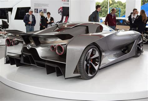 nissan supercar concept nissan concept 2020 vision gran turismo unwrapped at goodwood