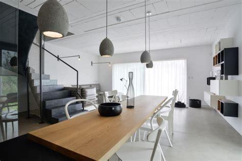 A Family Home with a Black & White Interior   Design Milk