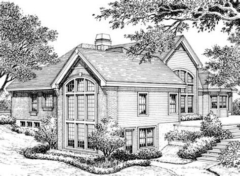 atrium ranch house plans stylish atrium ranch house plan with class 57134ha 1st