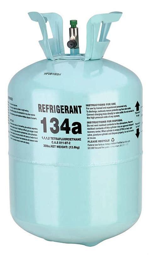 automotive freon refrigerant r134a 30lb jug