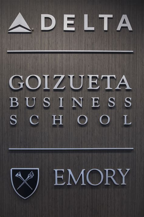 Emory Part Time Mba Tuition by Goizueta The Delta Air Lines Foundation Open Doors On New
