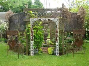 Artistic Garden Accents Garden Junk Palo Garden Decor
