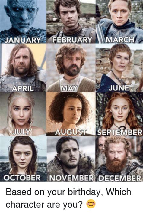 March Birthday Memes - january february march june april may july august