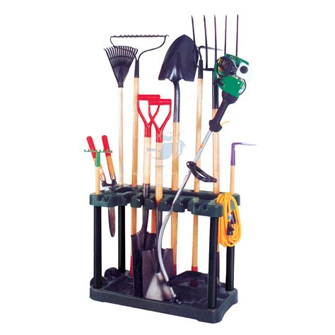 Landscape Tool Rack by Garden Tool Rack Trolley With Wheels Pisces