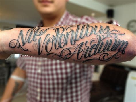 tattoos for men on arm writing mens forearm tattoos writing ideas 6 nationtrendz