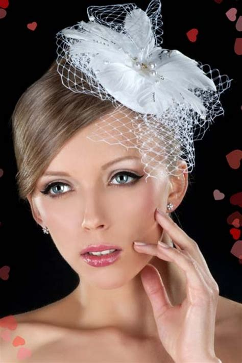 Wedding Hairstyles With Birdcage Veils Hair by Birdcage Veil With Hair Weddings