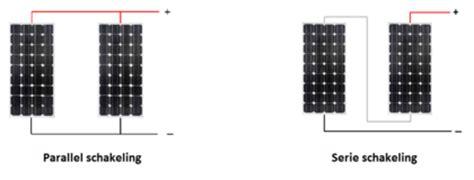 2 len in serie schakelen welk flexibel zonnepaneel heb ik nodig webshop flexibele
