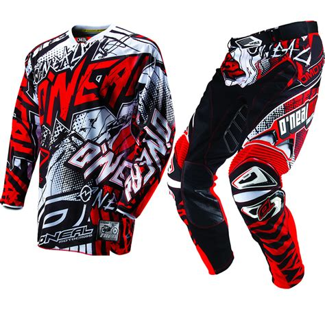 motocross jersey and combo oneal 2013 hardwear automatic black mx motocross