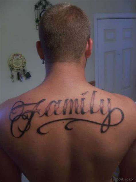 19 cute family tattoos for back