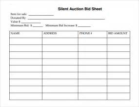 search results for silent auction sign up sheets