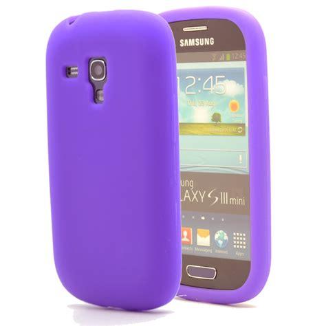 Spigen Samsung S3 Mini I8190 silikonskal till samsung galaxy s3 mini i8190 lila themobilestore