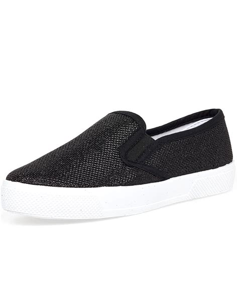 plain black flat shoes blue inc womens plimsolls plain black slip on flats