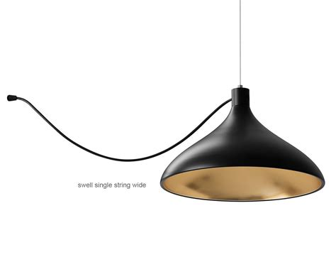 Swell Single String Pendant L Hivemodern Com String Pendant Light