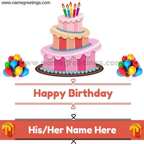 happy birthday design with name happy birthday name on cake happy birthday girl name on cake