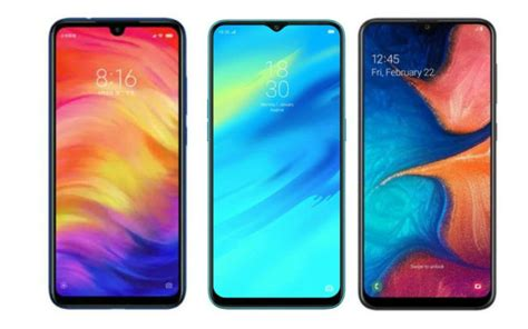 Samsung A10 Redmi 7 by Samsung Galaxy A20 Vs Redmi Note 7 Vs Realme 2 Pro Price In India Specifications Features
