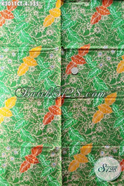 Batik Cap Halus 4 agen kain batik sedia batik halus warna hijau