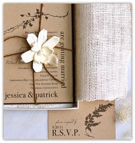 wedding invitations burlap top 10 burlap wedding invitations