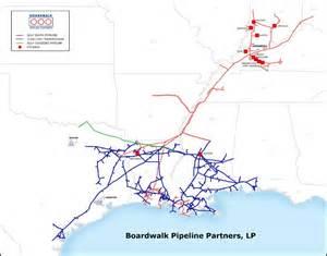 boardwalk pipeline partners pipeline map