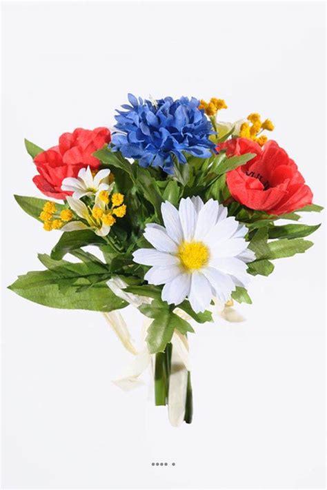 Petit Bouquet De Fleurs by Bouquet De Fleurs Artificielles Des Chs Tricolores H 22