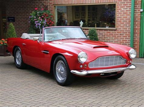 aston martin classic convertible aston martin db4 series v vantage convertible for sale on