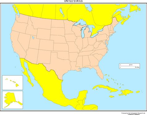 map of the untied states united states blank map