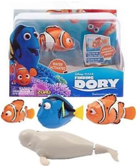 Disney Robo Fish Swimming Finding Dory Bailey finding dory robo fish dory marlin bailey nemo by zuru