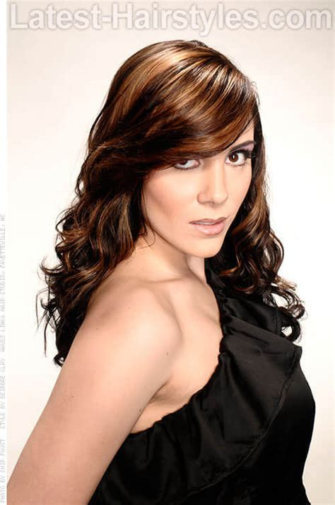 hottest long brown hair ideas  women